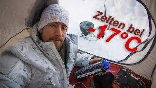 Zelten bei -17°C - Adventure Vlog 22 - Carinthia G250, NatureHike Cloud-Up 2