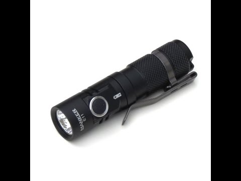 Manker E11 Flashlight Review-800 Lumens on a AA size Battery!