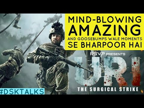 URI The Surgical Strike Official Trailer | Review | Vicky Kaushal | Yami Gautam | Paresh Rawal