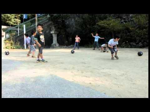 ボールあそび 加津佐町若木保育園の運動遊び