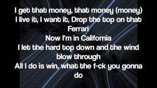 T Pain Feat. Lil Wayne   Bang Bang Pow Pow (Lyrics On Screen)
