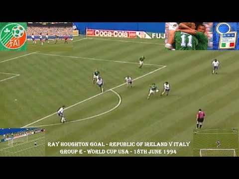 11 – Ray Houghton: Republic of Ireland v Italy 1994 – 90 World Cup Minutes In 90 Days