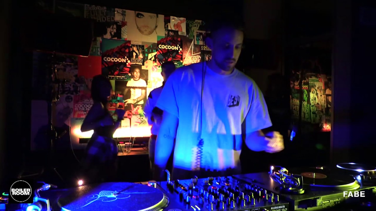 Fabe - Live @ Boiler Room 20 Years of Cocoon Records Frankfurt 2017