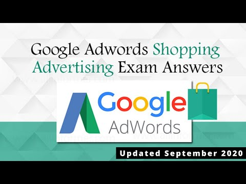 Google Shopping Ads Certification All Possible Questions and ...