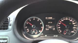 Круиз-контроль в VW Polo sedan