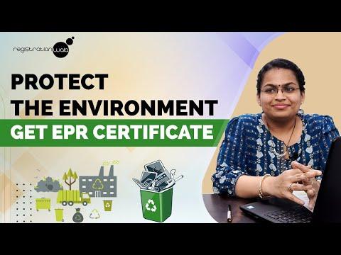 Get E Waste management Certificate   EPR Registration process ...