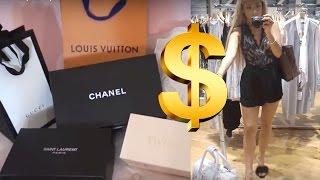 VLOG: over $3,000 luxury shopping  | fancy vlogs