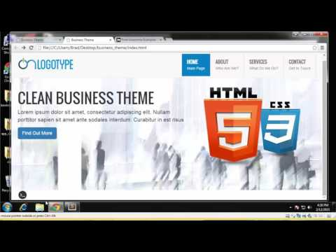 Learn How to Build a Business Theme Using Bootstrap - Part 4