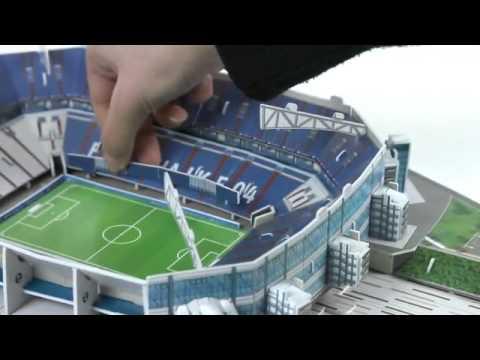 3D-Puzzle Nanostad: Veltins Arena Schalke