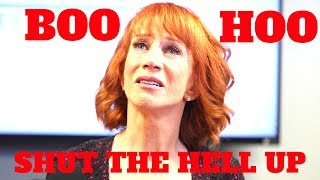 Kathy Griffin Cries on CNN, Says It's Trump's Fault