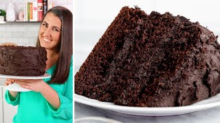 how to make a homemade moist chocolate cake