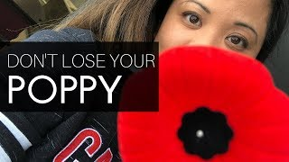 3 Simple Things: How to wear a poppy so you don't lose it