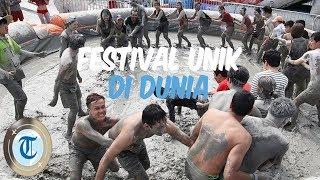 5 Festival Unik di Dunia, Mandi Lumpur hingga Lompati Bayi