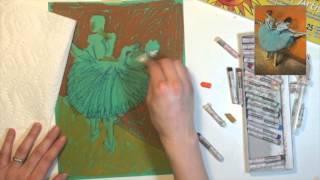 Edgar Degas Oil Pastel Reproduction Tutorial
