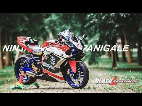 Video Modifikasi Ninja 250 FI, Body Kit Panigale 1199 Dambaan Kawula Muda