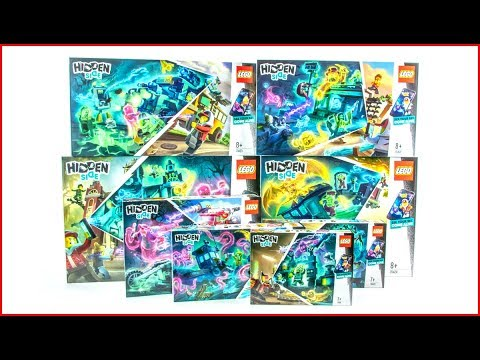 LEGO HIDDEN SIDE Compilation Construction Toy UNBOXING