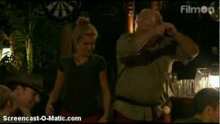 """Ashley Roberts dances to """"Buttons"""" by The Pussycat Dolls - I'm A Celebrity...Get Me Out Of Here 2012"""