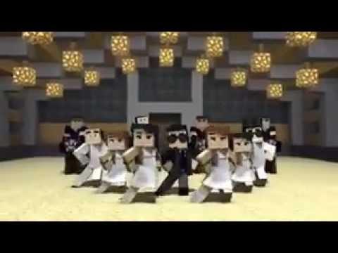 Minecraft и Opera#2-Ган гам стайл(Приколы)
