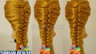 Top Amazing Hair Transformations - Beautiful HairstylesCompilationEdge Fishtail BraidSAMSAM BEAUTY