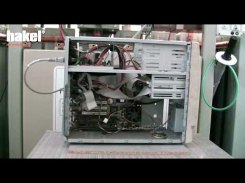 Testing of computer motherboard