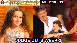 Eric Cowell (Simon's Son) Is Sophie Fatu's BF - Eric Is Embarrassed America's Got Talent 2018  AGT