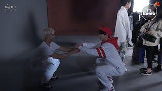 [BANGTAN BOMB] Let's do squats together - BTS (방탄소년단)