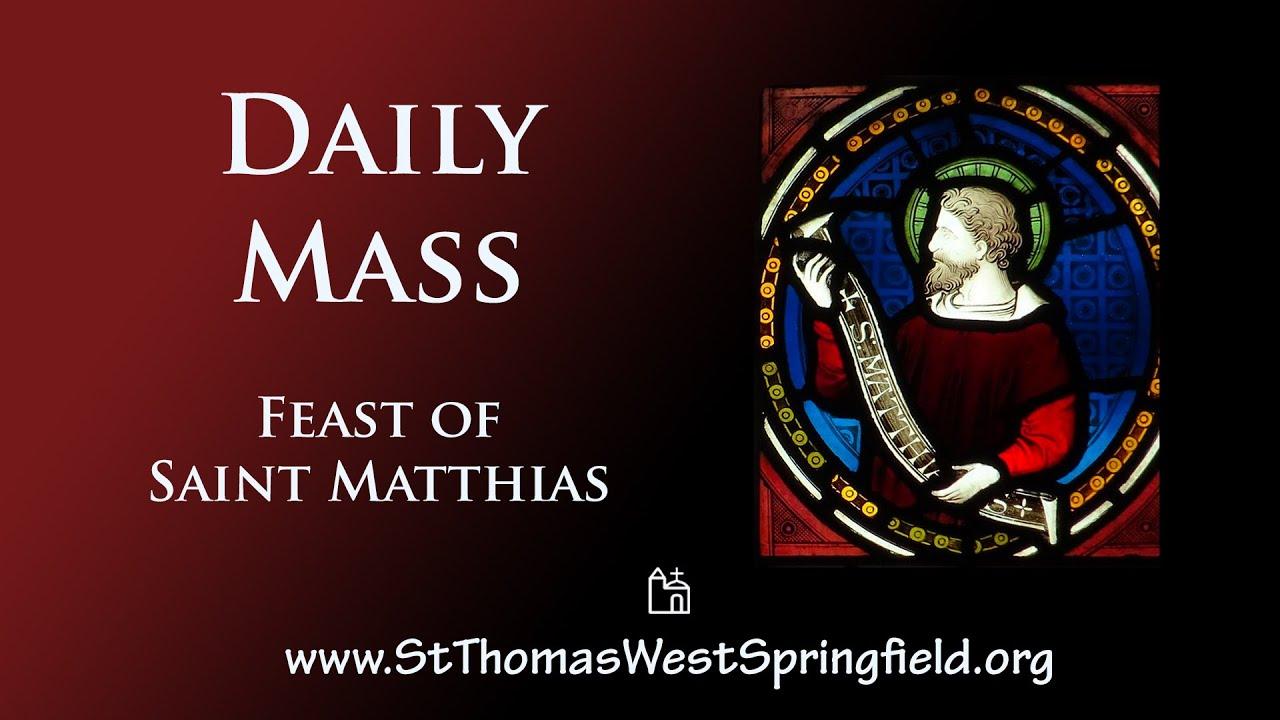 Catholic Daily Mass Friday 14th May 2021 Online