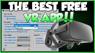 Oculus Tray Tool - The Best Free VR App for Oculus Rift 2017 ( #VR #Virtual Reality )