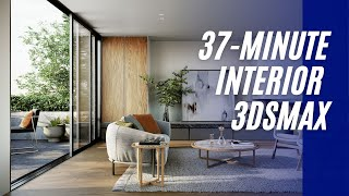 3D Tutorial | How to create Australian apartment in 3ds Max quick (in 37 min.)🏠
