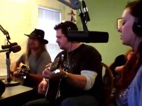 Flyin Blind - Roll On Gypsy acoustic (Live on The Gary In The Morning Show)