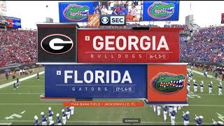 2019 #8 Georgia vs #6 Florida