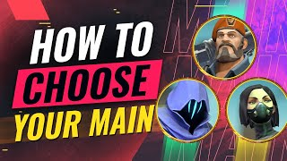 How to Choose Your PERFECT MAIN Agent - Valorant - Download this Video in MP3, M4A, WEBM, MP4, 3GP