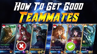 How To Get Global Players In Your Team | Mobile Legends Bang Bang
