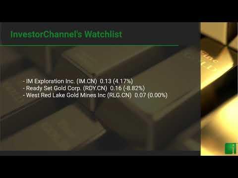 InvestorChannel's Gold Watchlist Update for Thursday, Sept ... Thumbnail
