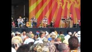 "Jimmy Buffett & Mac McAnally & Sonny Landreth ""Serpentine"" New Orleans Jazz Fest 2012"