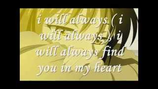 i'll find you in my heart by bleu ( my collections video 5 )