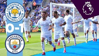 Leicester 0-1 Manchester City Pekan 4