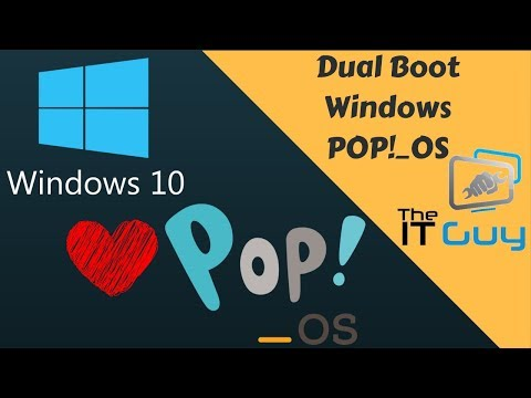 Dual Boot POP OS and Windows 10 (For EFI Systems)