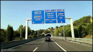 preview picture of video '338 - Spain. Autopista de Monserrat C-16 E9 - La Floresta - Sant Cugat del Vallès [HD]'