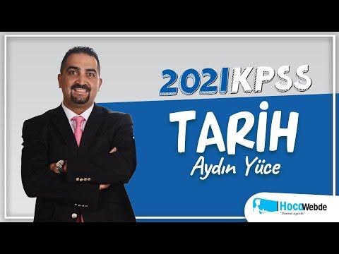 81) 2020 KPSS TARİH Aydın YÜCE KONU ANLATIMI (YUMUŞAMA DÖNEMİ-IV)