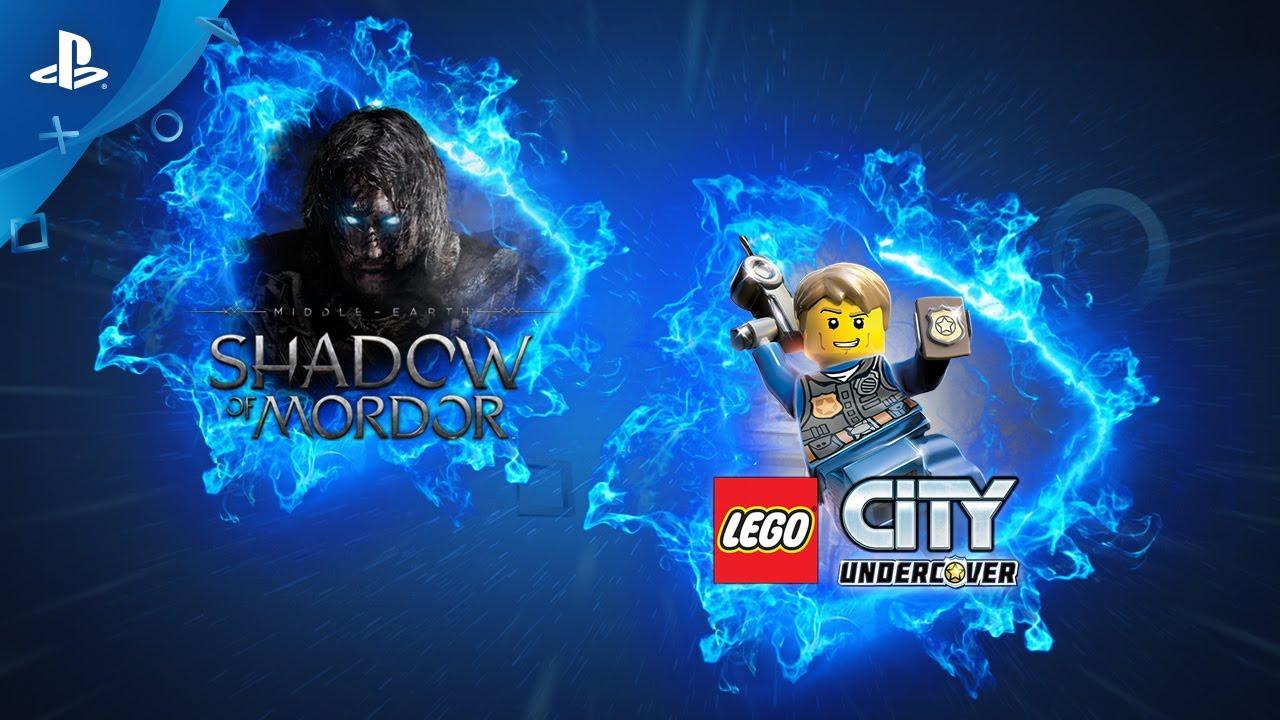 La Terra di Mezzo: L'Ombra di Mordor e Lego City Undercover fra i giochi in arrivo su PS Now a giugno