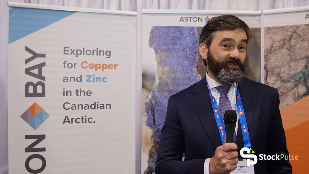 Aston Bay Catalyst Clip with CEO Thomas Ullrich at the 2018 PDAC in Toronto