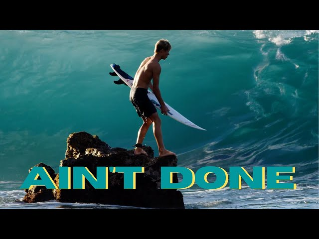 AIN´T DONE