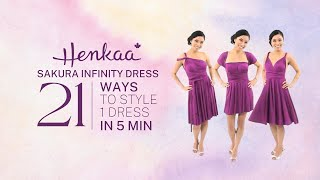 21 Ways To Wear A Convertible Infinity Dress SAKURA