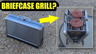 Briefcase Barbecue Review: Does This Folding Grill Work?