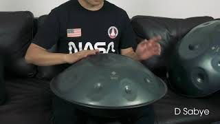 Handpan D Sabye (Performance)