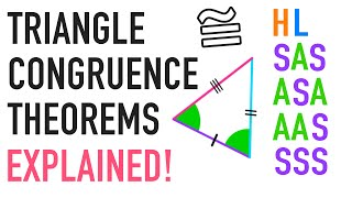 Triangle Congruence Theorems Explained: ASA, AAS, HL