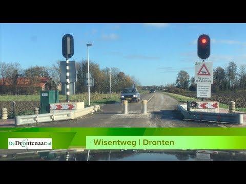 Alleen niet-Drontenaren lopen schade op bij inzinkbare paal op de Wisentweg