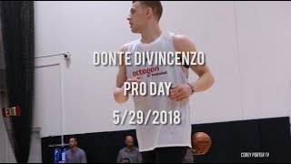 Donte Divincenzo Pro Day 2018: Full Pre Draft Workout
