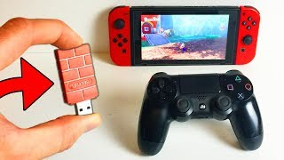 MANETTE PS4 XBOX ONE SUR SWITCH : MERCI 8BITDO 👍